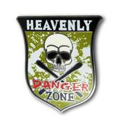 Heavenly Cross Skis Ski Resort Pin