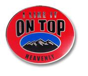 Heavenly Ski Resort Pin