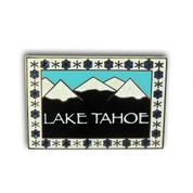 Lake Tahoe Mountain View Ski Resort pin