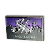 Lake Tahoe Purple Sky Ski Resort Pin