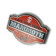 "Mammoth ""Ski Like a Pro"" Ski Resort Pin"