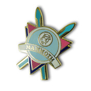Mammoth Logo Ski Resort Pin
