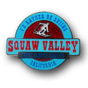 Squaw Valley California Ski Resort Pin