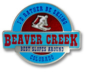 Beaver Creek Best Slopes Ski Resort Pin