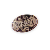 Beaver Creek Gold Ski Resort Pin