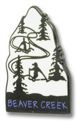 Beaver Creek Slope Ski Resort Pin