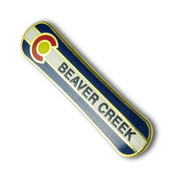 Beaver Creek Snowboard Ski Resort Pin