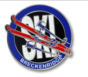 Breckenridge Skis Ski Resort Pin