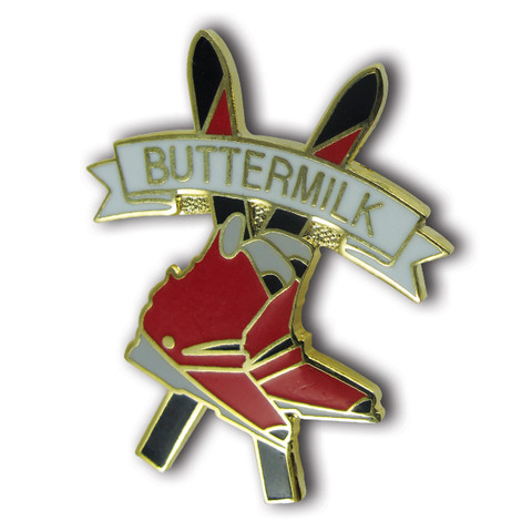"Buttermilk ""Boots"" Ski Resort Pin"