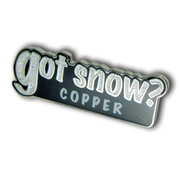 "Copper ""Got Snow"" Ski Resort Pin"