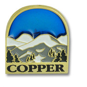 Copper Mountain Blue Sky Ski Resort Pin
