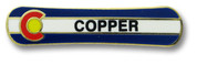 Copper Mountain Board Ski Resort Pin