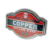Copper Mountain Skull Ski Resort pin