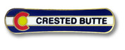 Crested Butte Board Ski Resort Pin