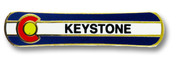 Keystone Board Ski Resort Pin