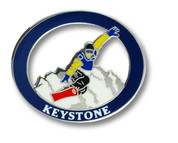 Keystone Snowboard Ski Resort Pin
