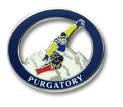 Purgatory Snowboarder Ski Resort Pin