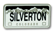 Silverton License Ski Resort Pin