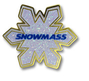 Snowmass Flake Ski Resort Pin