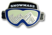 Snowmass Goggles Ski Resort Pin