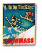 Snowmass On The Edge Ski Resort Pin