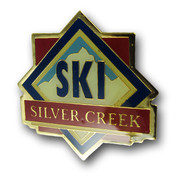 Silver Creek Diamond Ski Resort Pin