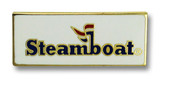 Steamboat Logo Ski Resort Pin