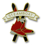 Steamboat Skis & Boots Ski Resort Pin
