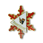 Steamboat Snowflake Ski Resort Pin