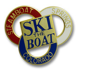 Steamboat Three Ring Ski Resort Pin