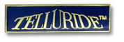 Telluride Blue Ski Resort Pin