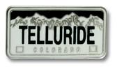 Telluride Plate Ski Resort Pin