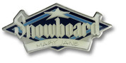 Mary Jane Snowboard Ski Resort Pin