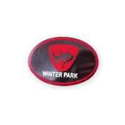 Winter Park Oval Ski Resort Pin