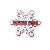 Winter Park Snow Flake Ski Resort Pin