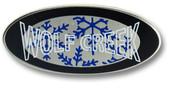 Wolf Creek Oval Ski Resort Pin