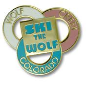 Wolf Creek Three Rings Ski Resort Pin