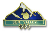 Sun Valley Three Diamond Ski Resort Pin