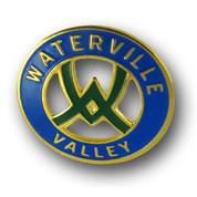 Waterville Logo Ski Resort Pin