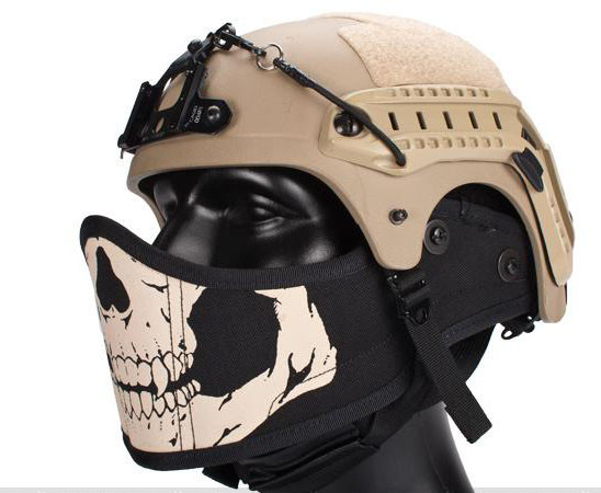 airsoft masks coloring pages - photo#44
