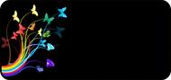 Rainbow Flight Black