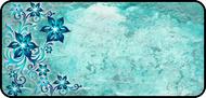 Star Flowers Teal
