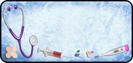 Medical Blue Grunge