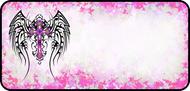 Tribal Wings Pink