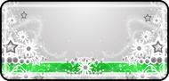 Daisy Ribbon Green
