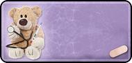 Medical Teddy Purple