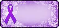 Ribbon Floral Purple