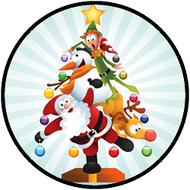 Silly Santa Tree BR