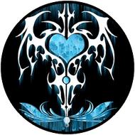 Inked Black & Blue BR