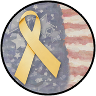 Yellow Ribbon Flag BR